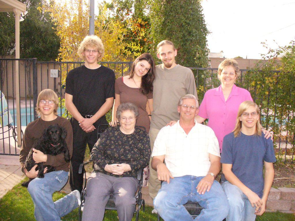 Hallstrom Family December 2006